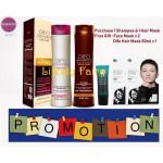 Difo Hair Care Shampoo & Conditioner (Shampoo 400ml+ Conditioner 400ml)