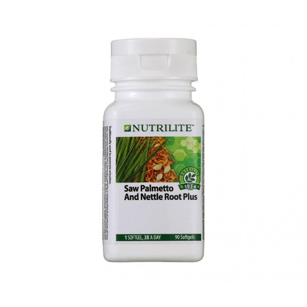 Amway NUTRILITE Saw Palmetto and Nettle Root (90 sg)