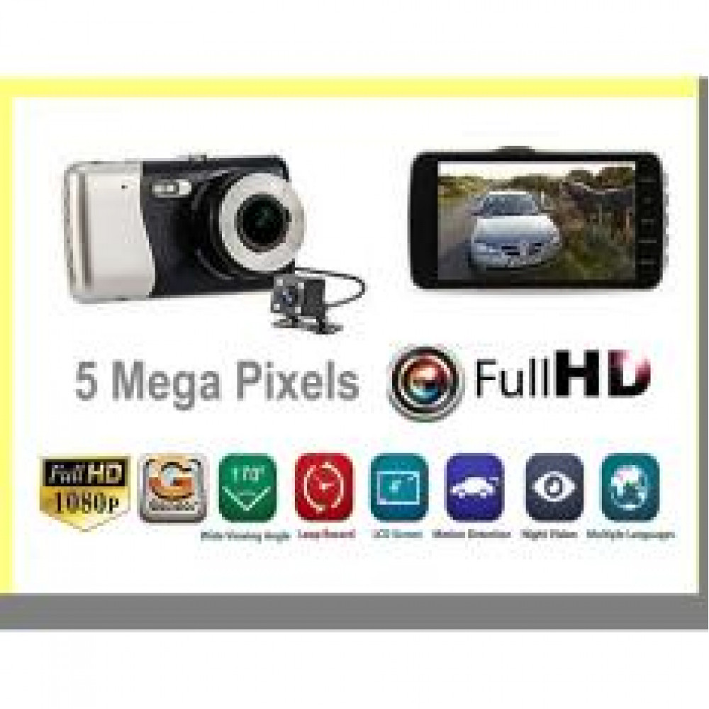 1080P Front and Rear Dual Channel Car Camera