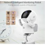 Wireless ROBOT IP Surveillance CAMERA 960P (Pan/Tilt/Zoom/Two-Way Audio)Hidden Home CAMERA