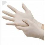 100PCS  Anti-virus Colloid Film Gloves Disposable Examination Anti-static Food Grade Home Clean Sterilization Protective PVC Gloves