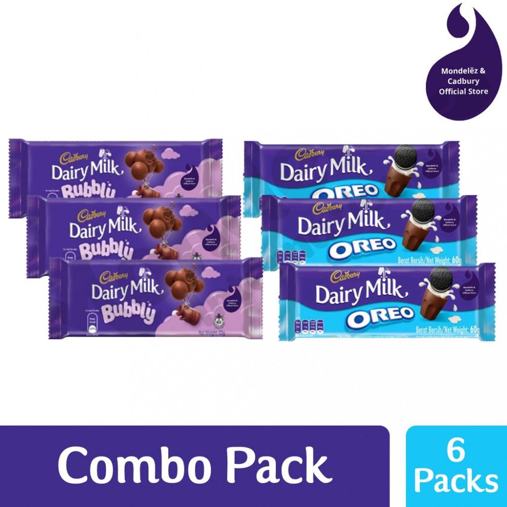 Cadbury New Combo Oreo & Bubbly