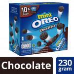 Oreo Mini Handy Pack - Chocolate Creme (230g x 10 Packs)