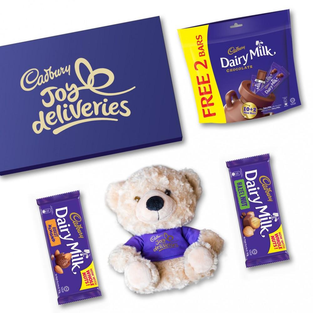 Cadbury Joy Deliveries Gift Box #1 - Teddy Bear Set