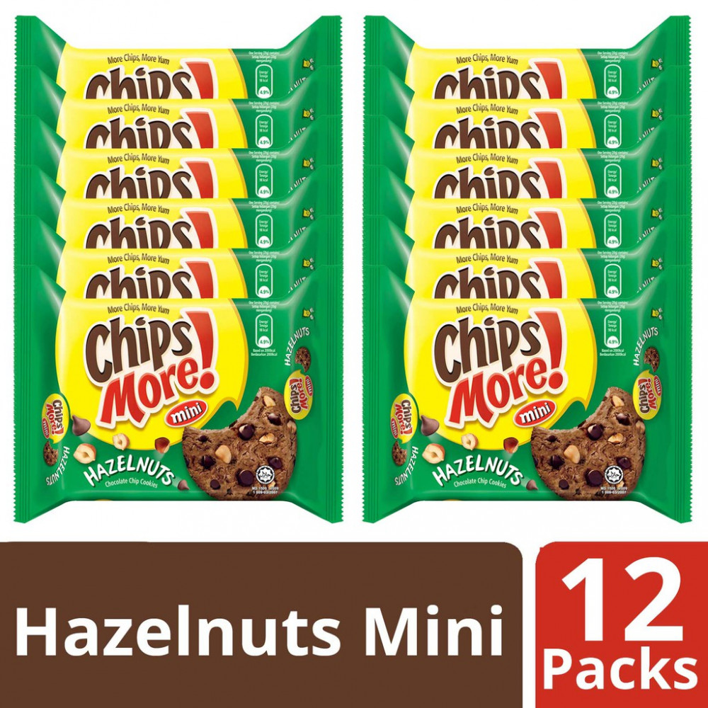Chipsmore Hazelnuts Cookies (88g x 12)