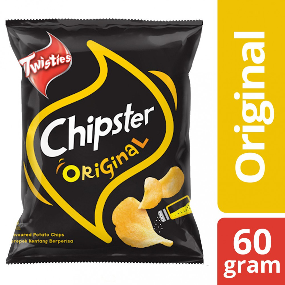 Twisties Chipster Potato Chips - Original (60g)