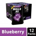 Halls XS Sugar Free Candy - Mentho-Lyptus (25's x 12)