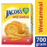 Jacob's Low Sodium High Fibre Crackers Tin (700g)