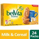 Belvita Breakfast Milk & Cereal (80g x 24 Bundle)