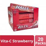 Halls Vita-C Stick - Candy Color Mix Mint (34g x 20)