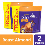 Cadbury Dairy Milk Chocolate Sharebag Roast Almond (150g x 2)
