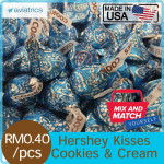 Mix & Match Hershey Kisses Cookies and Creme 1 PC (Made in U.S.A)