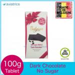 The Belgian Dark Chocolate NO SUGAR 100g (Made in Belgium)