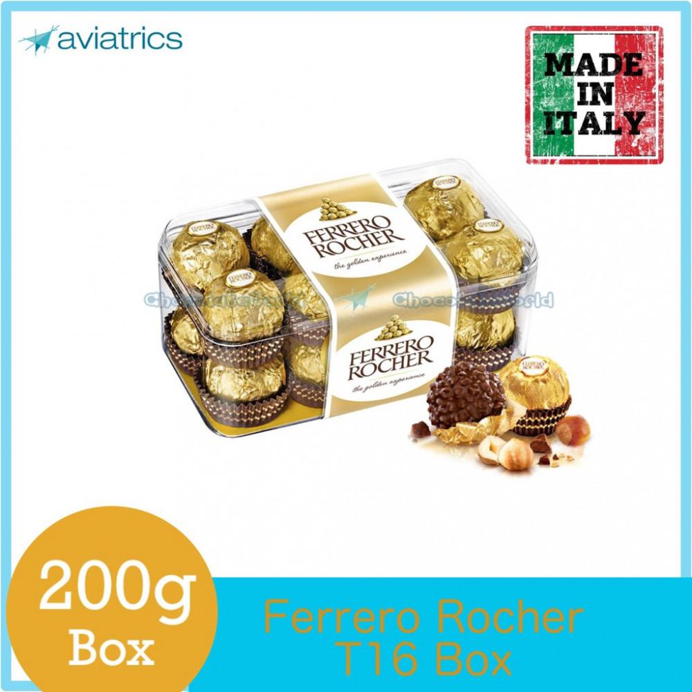 Ferrero Rocher T16 200g (Made in Italy)