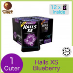 Halls XS Sugar Free Candy - Watermelon (25's x 12)