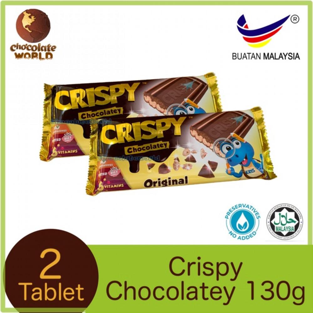 Crispy Chocolatey Original Milk Chocolate 130g x 2