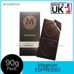 Magnum Signature Dark Chocolate Bar with Espresso 90g (Made in UK)