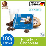 Ritter Sport 35% Fine Milk Chocolate 100g (Made in Germany)