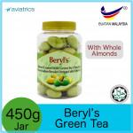 Beryl's Almond Coated With Green Tea Chocolate 410g (Made in Malaysia)