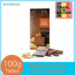 Godiva Chocolatier Salted Caramel Milk Chocolate 100g (Made in Belgium)