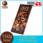 Lindt Maxi Plaisir Dark Chocolate with Hazelnut 150g