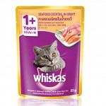 Whiskas 1+ Year Seafood Cocktail 85g