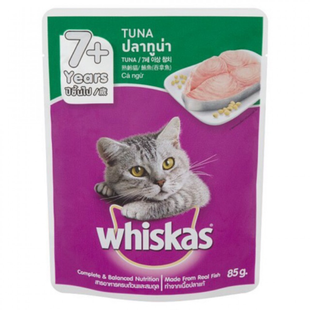 Whiskas 7+ Years Tuna 85g