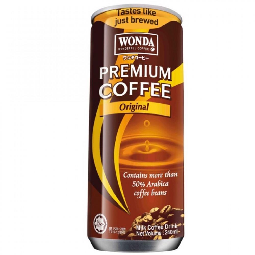 【240ml】Wonda Original Premium Coffee