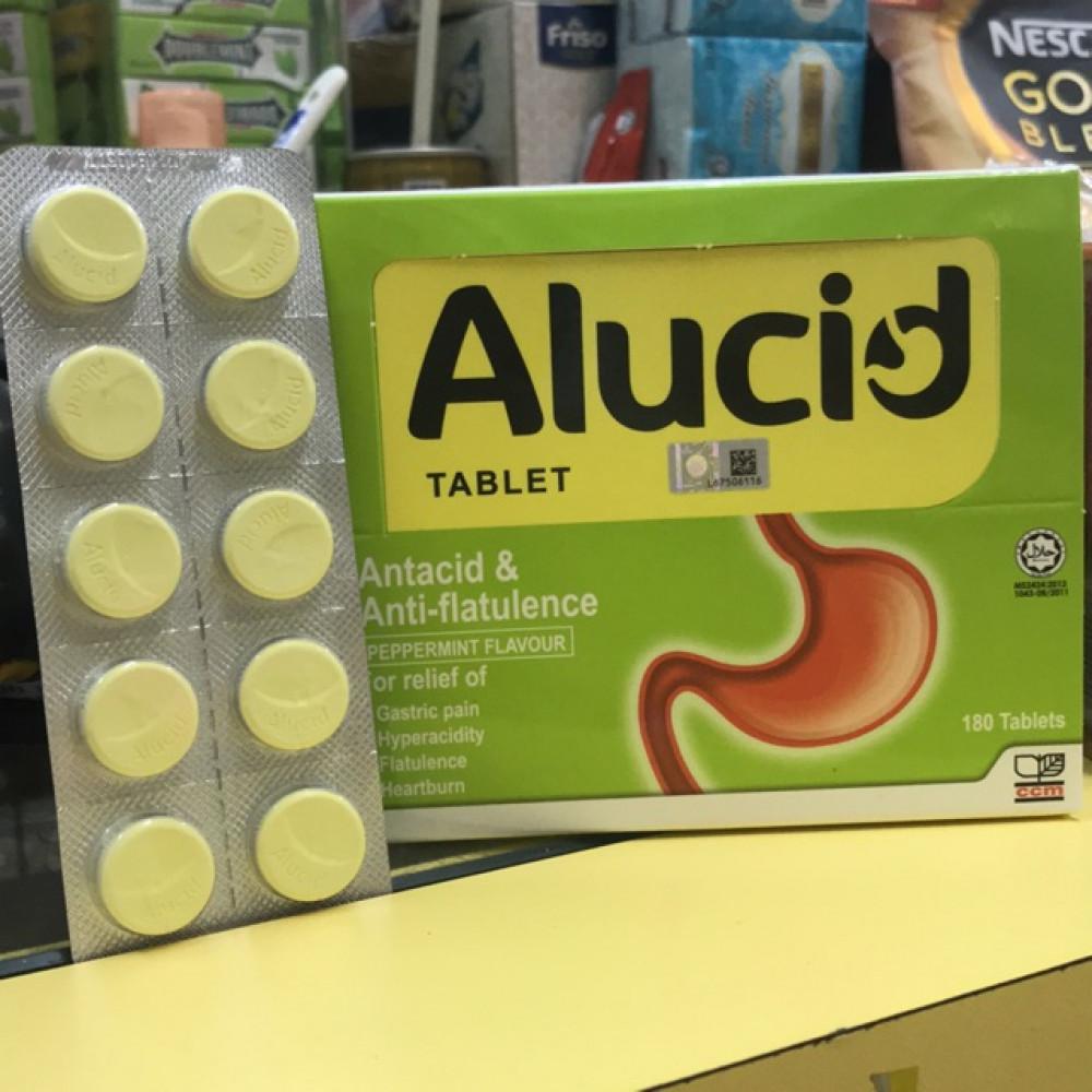 Alucid Tablet 10's Mint Flavour