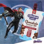 ORIGINA Dairy Susu Coklat Tawar Milk 200ml