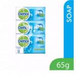 【3 X 65g】Dettol Anti Bacterial Soap