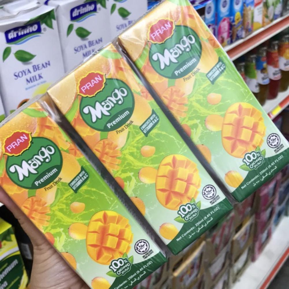 Pran Premium Fruit Drink 250ml X 6