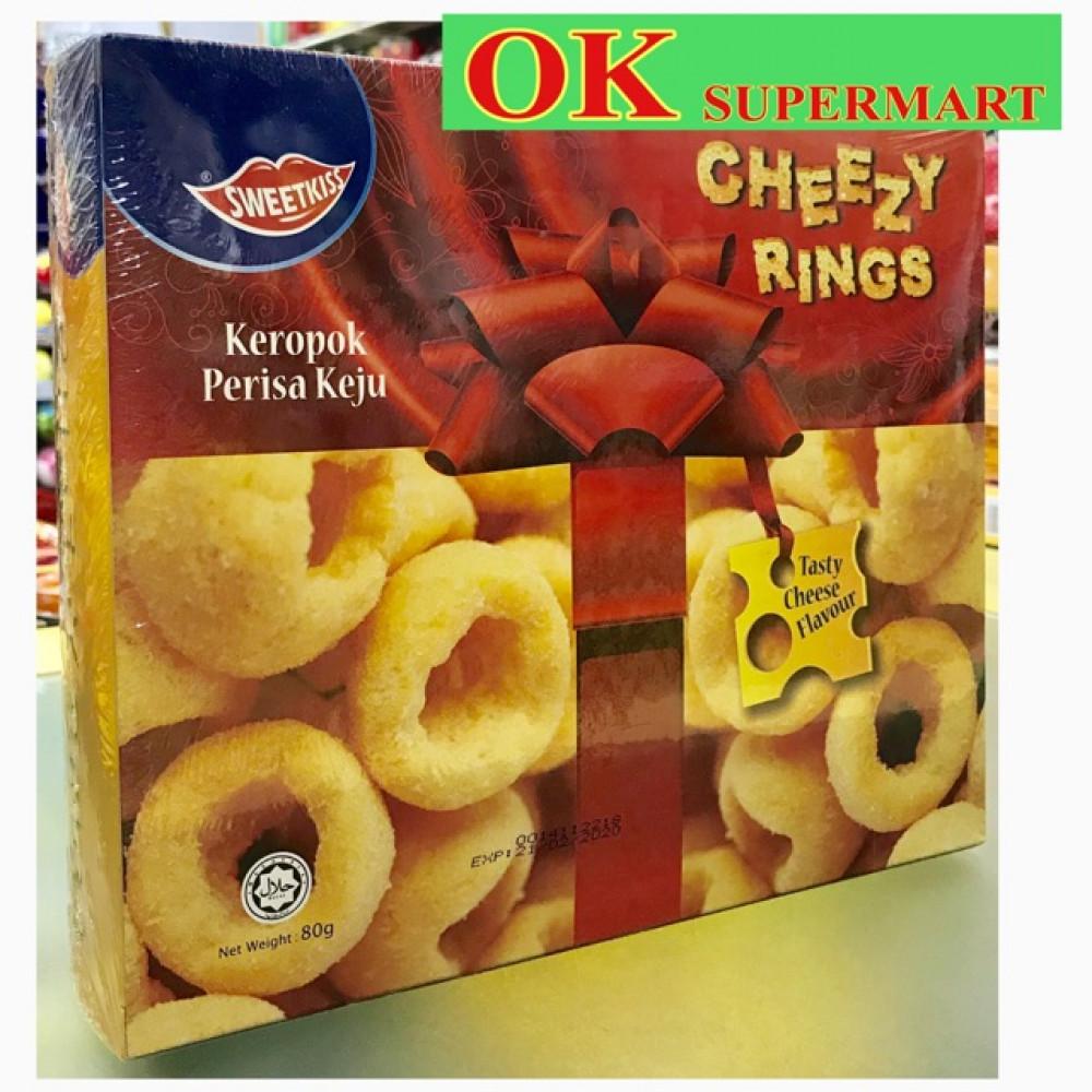 Sweetkiss Cheezy Rings 80g