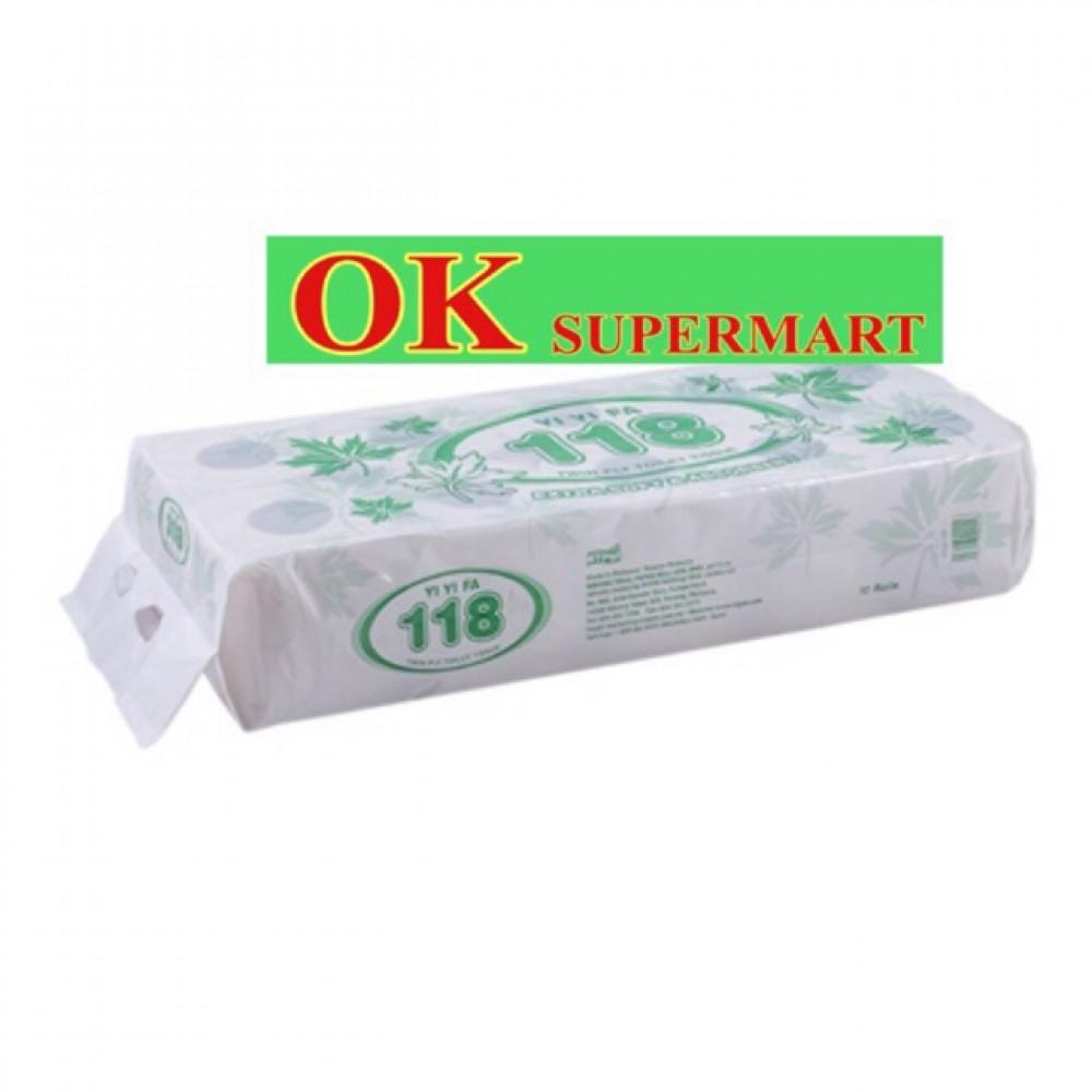 Yi Yi Fa 118 Twin Ply Toilet Tissue 10's