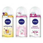 Nivea Female Deodorant Roll On 50ml-Extra Whitening Hello Kitty