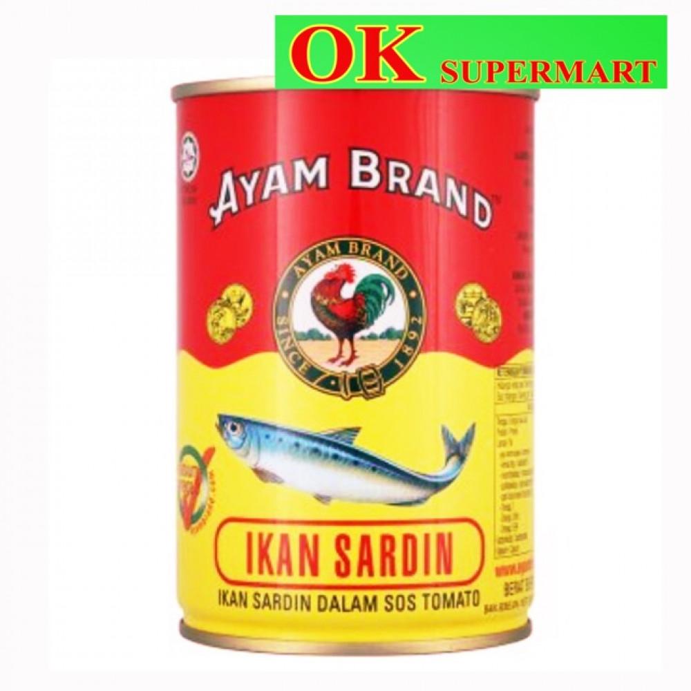 【425g】Ayam Brand Sardines / Mackerel In Tomato Sauce