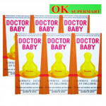 Doctor Baby Transparent Teats 3's