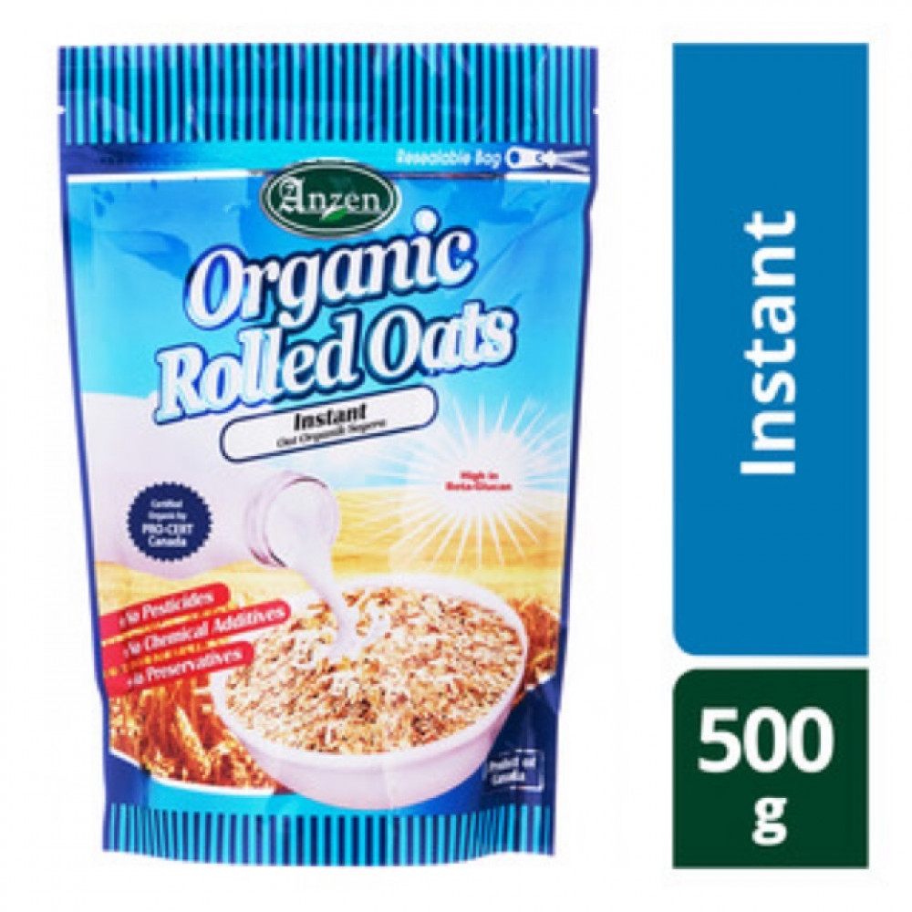 【Instant】ANZEN Organic Rolled Oats 500g