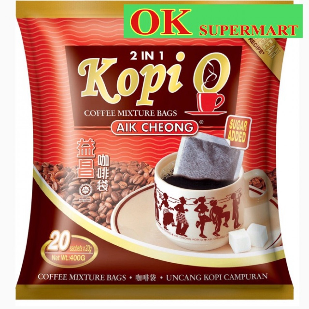 Aik Cheong Kopi O 2 In 1 20g X 20's