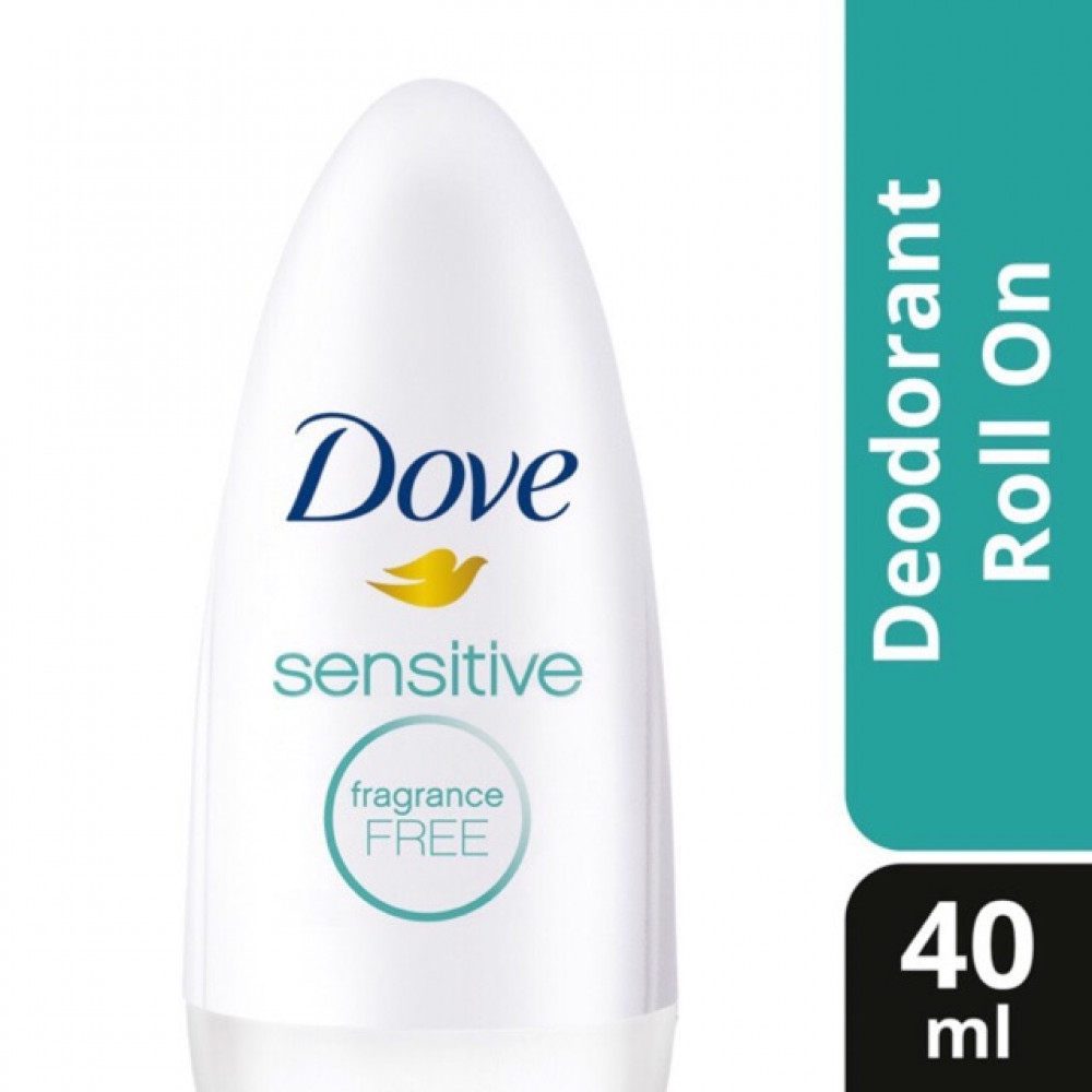 【40ml】Dove Roll On With Moisturising Cream