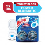 Harpic Power Bluematic 50g X 2's