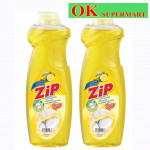 【2 bottles】Zip Dishwashing Liquid 900ml