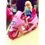 Barbie Scooter With Candy