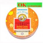 Nin Jiom Herbal Candy Tangerine-Lemon 60g