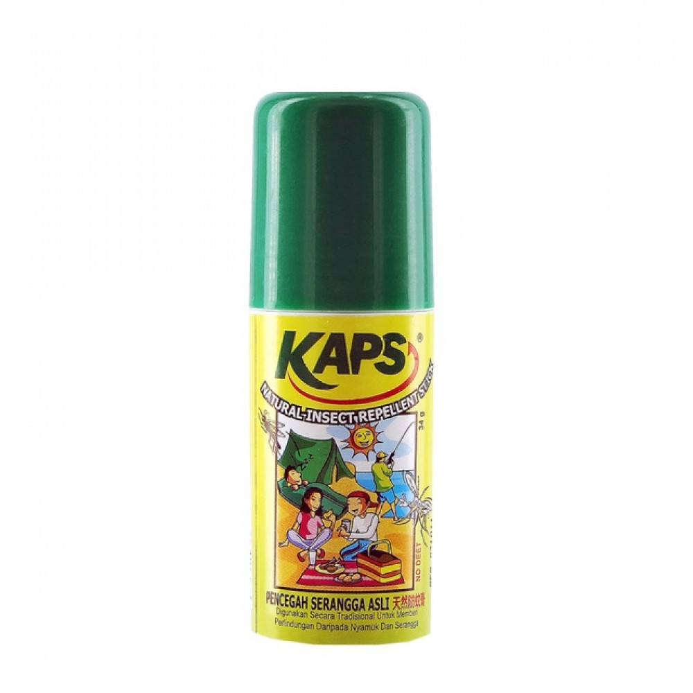 KAPS Natural Insect Repellent Stick 34g