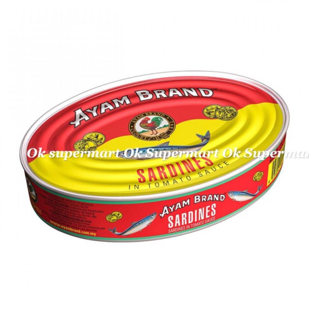 Ayam Brand Sardine 425g Oval