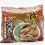 YORSHIN Roasted Duck Flavour Instant Noodle 90g x 5's 旭升 金牌 烤鸭面