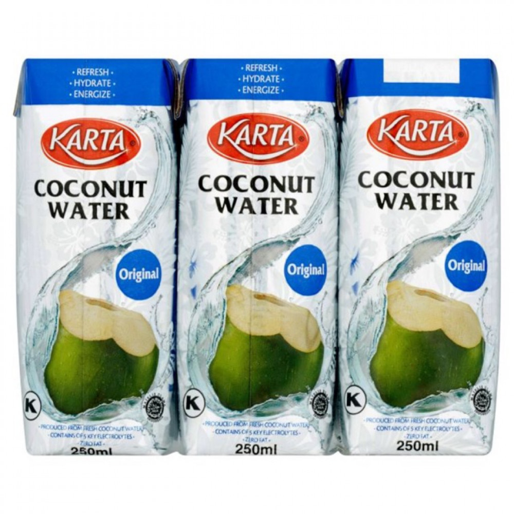 【250ml X 6】Karta Original Coconut Water
