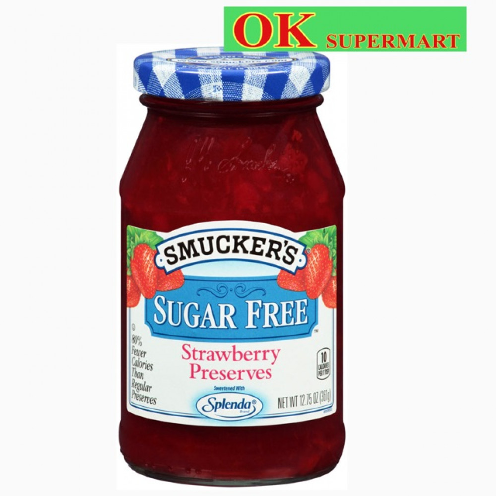 Smucker's Sugar Free Jam 351g Smuckers