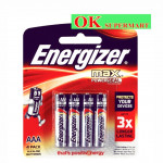 Energizer Max Power Seal AAA 4's